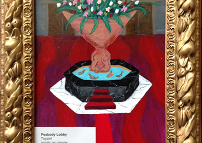 Toyzini Peabody - Lobby - Acrylic On Canvas