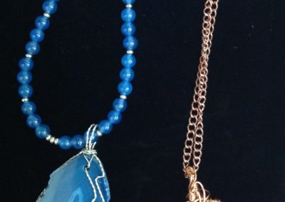 Wirewrap Gemstone Necklaces