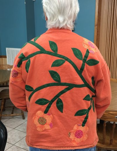 Jacket with Appliqué